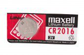 Батарейка maxell Lithium Battery 3V CR2016