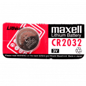 Батарейка maxell Lithium Battery 3V CR2032